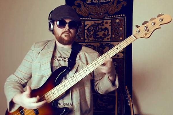 """Jim Bennett: """"Thrift Shop"""" Bass Jam"""