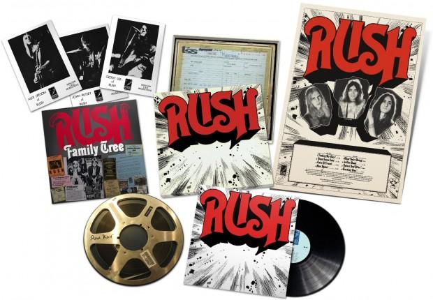 Rush ReDISCovered Vinyl Box Set