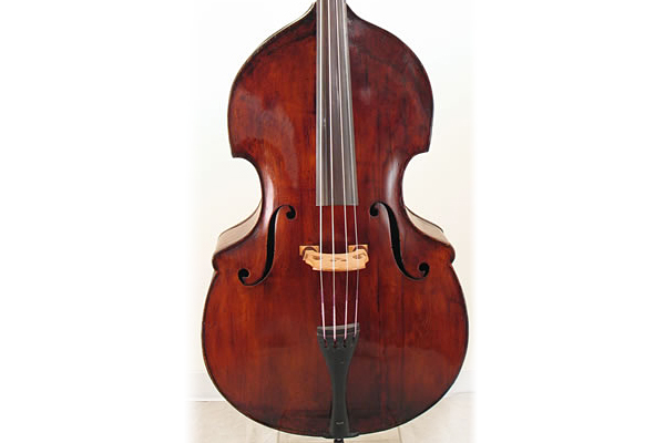 Scott LaFaro's 1825 Prescott Bass Gifted to International Society of Bassists