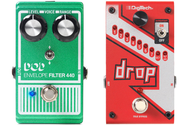 DigiTech Announces DOD Envelope Filter 440 and Drop Pedals