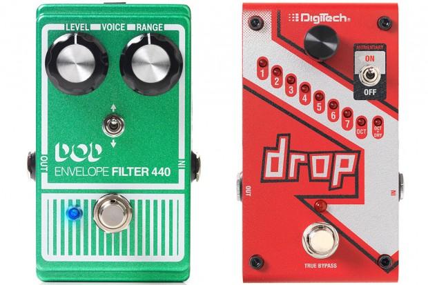 DigiTech DOD Envelope Filter 440 and Drop Pedals