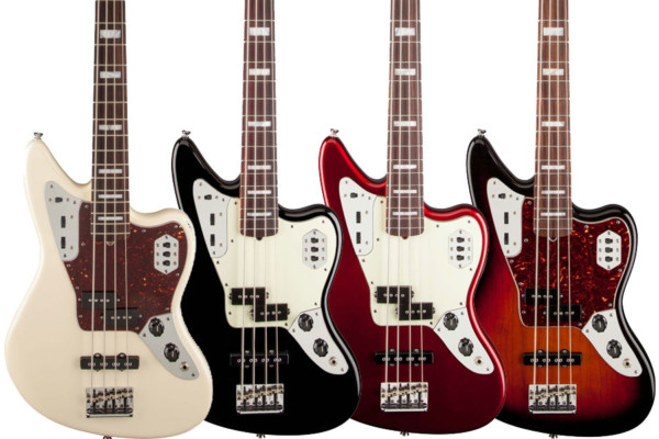 Fender Introduces American Standard Jaguar Bass