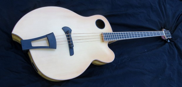 "Jack Casady's Ribbecke Guitars ""Diana"" Bass"