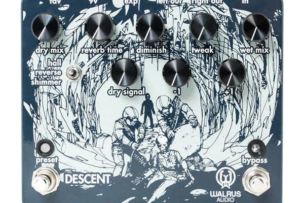 Walrus Audio Releases Descent Reverb