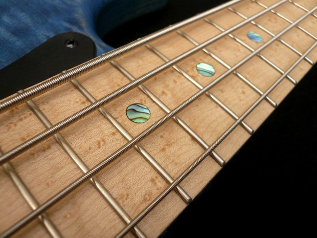 Soame Custom Guitars PJ435 Bass Fretboard