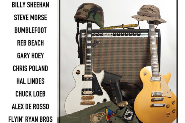 "Billy Sheehan Appears on ""Guitars for Wounded Warriors"""