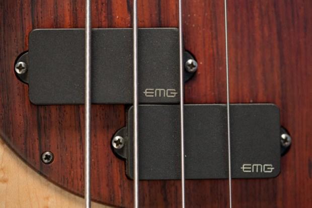 Les Claypool's Pachyderm Bass Maple 4 String Bass Pickup