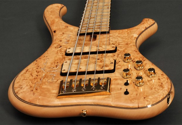 Marleaux Consat Signature Bass with Burl Top