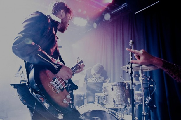 Mike Kerr and Royal Blood