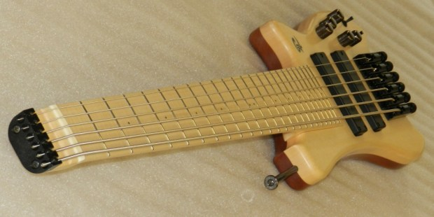 Paul Lairat Travel Bass Maple Neck Angle