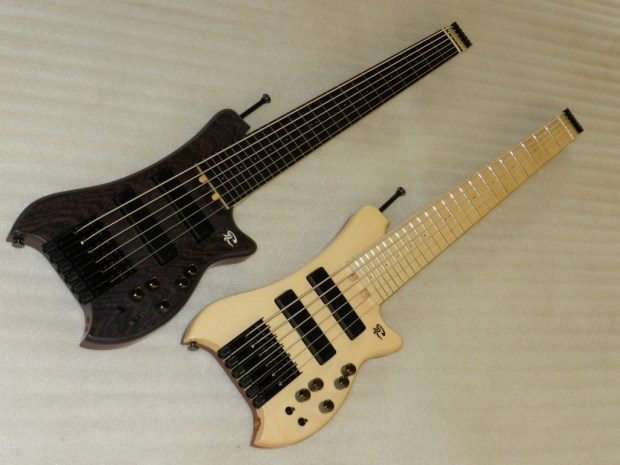 Paul Lairat Travel Bass Maple and Wenge