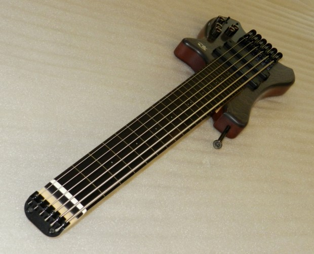 Paul Lairat Travel Bass Wenge Neck Angle