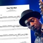 "Bass Transcription: Marcus Miller's ""Cee-Tee-Eye"""