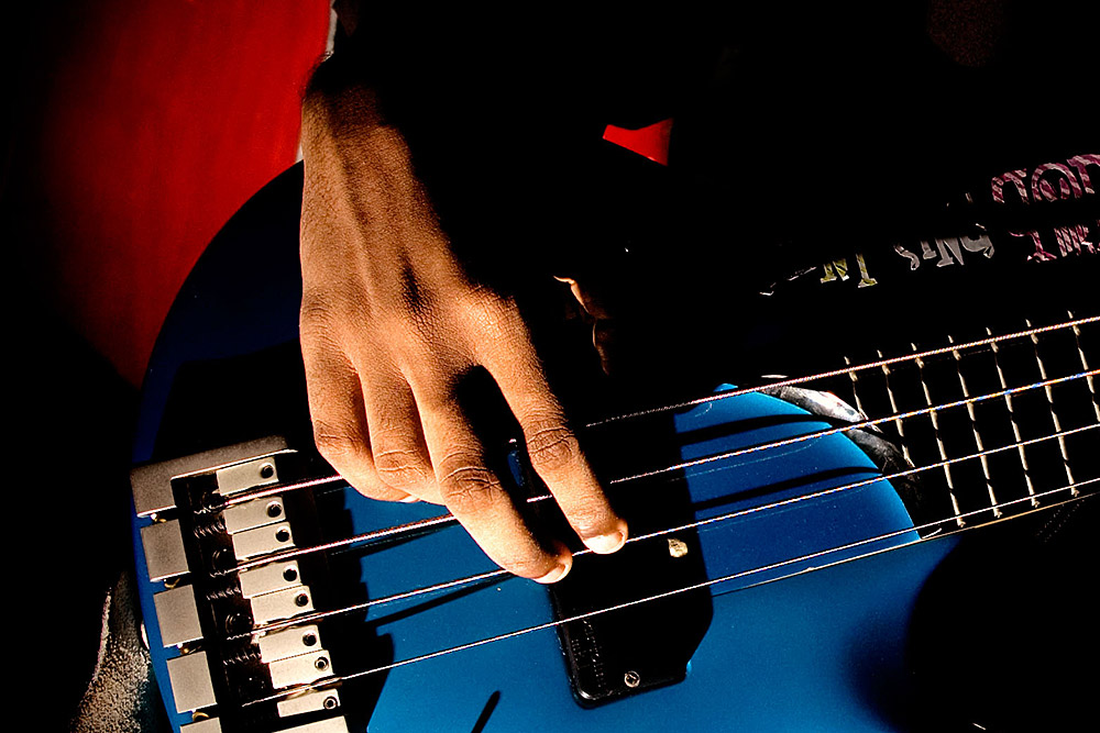 Bassist's Right Hand
