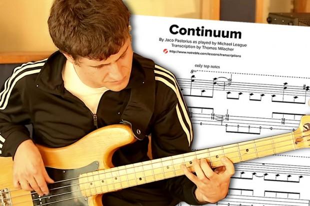 """Bass Transcription: Michael League's """"Continuum"""" – No Treble"""