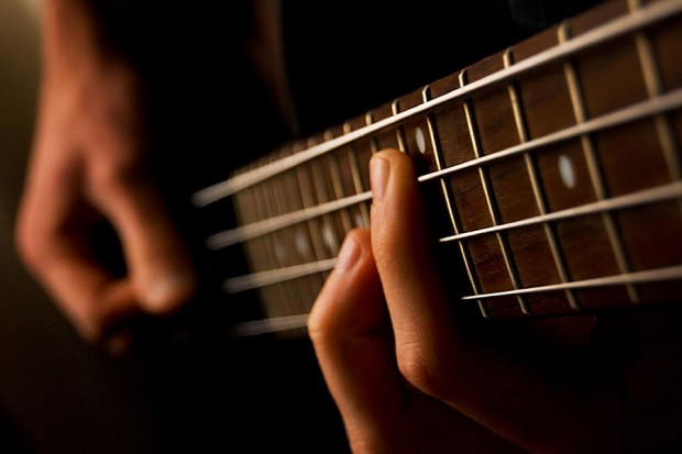 Bassist by Feliciano Guimaraes