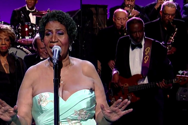 "Aretha Franklin: ""Rolling in the Deep/Ain't No Mountain"" Late Show Performance"
