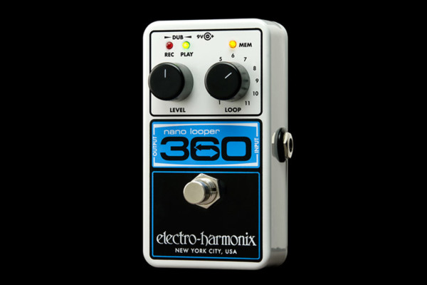 Electro-Harmonix Enters Compact Looping Pedal Market with the NanoLooper 360