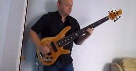 "Alun Vaughan: ""Bohemian Rhapsody"" Solo Bass Arrangement"