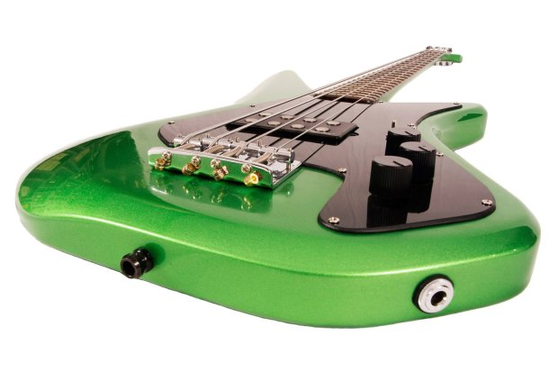 Assi Guitars Sciatt Bass Body Angle