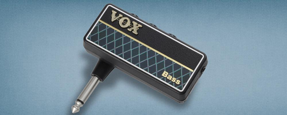 vox unveils amplug g2 bass headphone amplifier no treble. Black Bedroom Furniture Sets. Home Design Ideas
