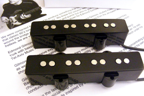 Reed James Engineering Introduces Edmond Gilmore Signature Pickup Set