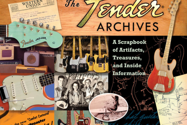 The Fender Archives Revealed in Scrapbook-Style Collection