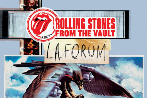"1975 LA Forum Show Second in ""From The Vault"" Releases from The Rolling Stones"