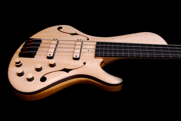 Bass of the Week: Turan Guitars TG Semi-Hollow Bass