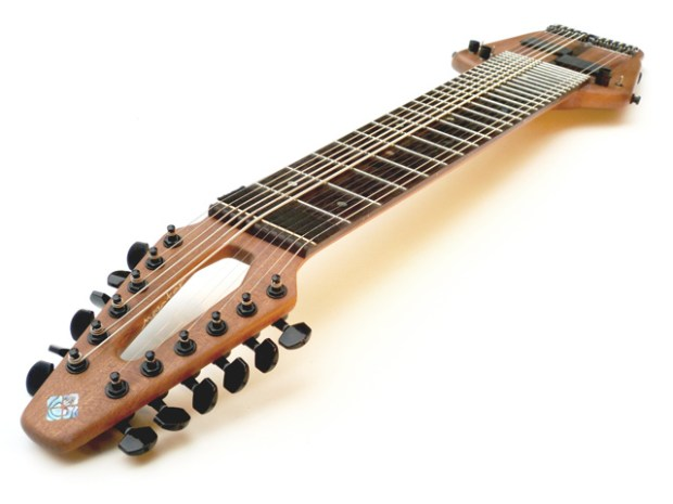 Megatar 12-string Extended Range Bass Angle