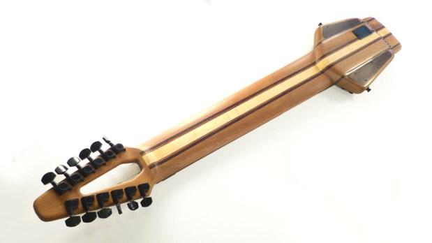 Megatar 12-string Extended Range Bass Back
