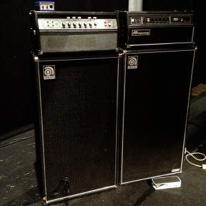 Bill Laswell's Ampeg amps