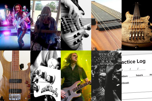 Weekly Top 10: Funky Bass Videos, New Bass Gear, Learning the Electric Bass, Self Evaluation and More
