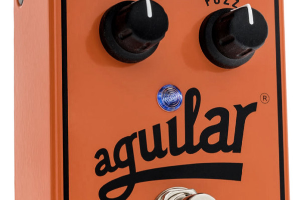 Aguilar Introduces Fuzzistor Bass Fuzz Pedal