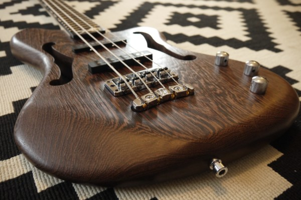 Bass of the Week: Bruno Régis Custom 4-String Bass