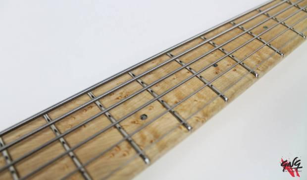 Negrini Guitars Fëanor JMS6 Fretboard