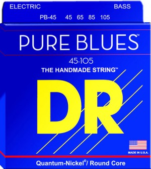 DR Strings Pure Blues Bass Strings