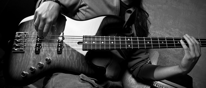 Bassist photo by Enric Juvé