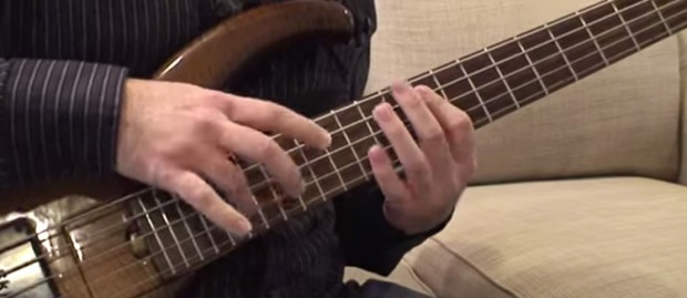 Rob Smith - two-handed bass tapping