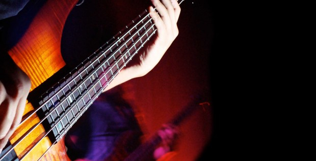 Bass player - photo by Valeria Guerrero