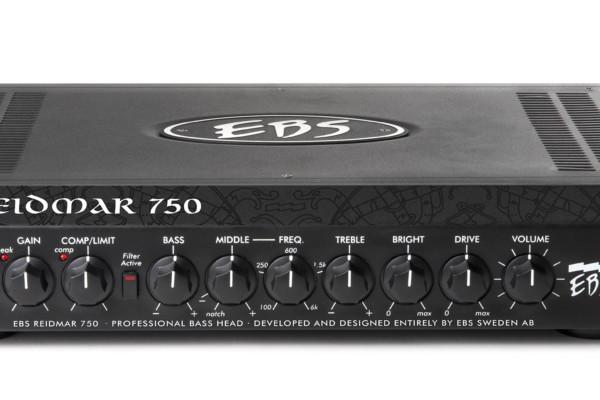 EBS Introduces the Reidmar 750 Bass Amp