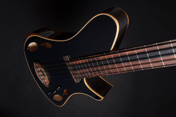 Bass of the Week: Martin Keith Guitars Elfin Hollowbody