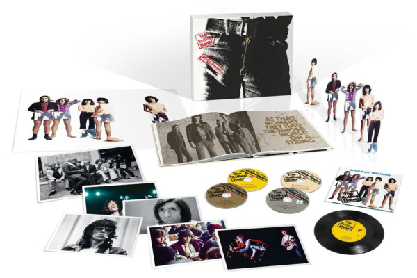 "The Stones Give ""Sticky Fingers"" Extensive Reissue"