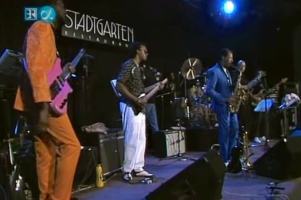 "Ornette Coleman & Prime Time Band: ""Story Tellers"" and ""Latin Genetics"", live 1987"
