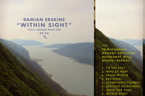 "Damian Erskine Releases ""Within Sight"""