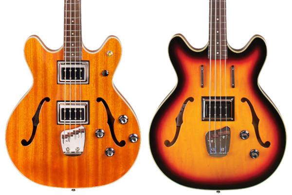 Guild Unveils Chris Hillman Byrd Bass and Starfire Bass II
