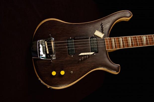 Modified Rickenbacker 4001 Piccolo Sitar Bass Body