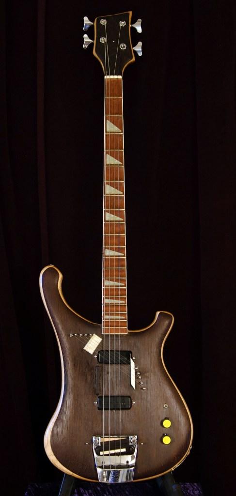 Modified Rickenbacker 4001 Piccolo Sitar Bass Full