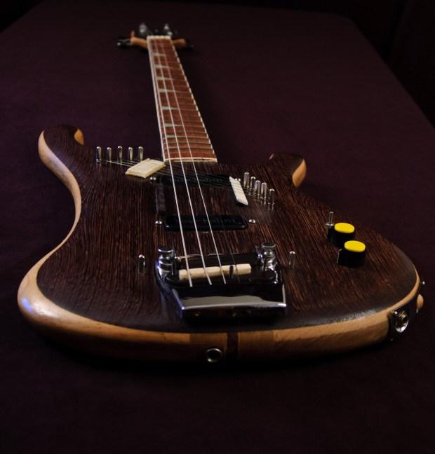 Modified Rickenbacker 4001 Piccolo Sitar Bass Long View