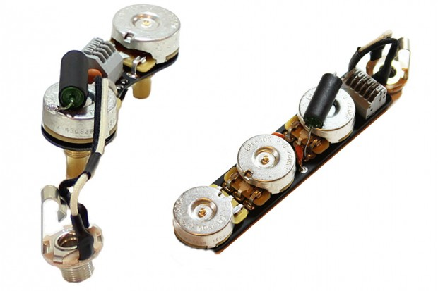 ObisidianWire P and J Bass Upgrade Wiring Harnesses